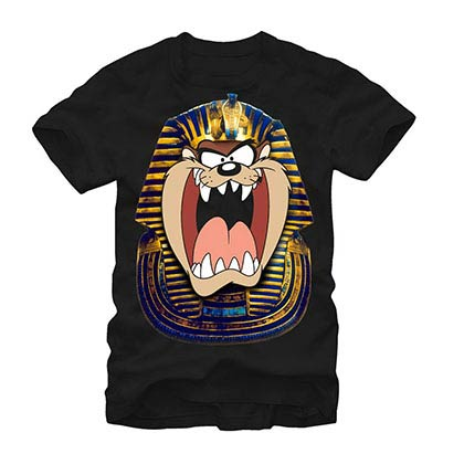 Looney Tunes Tut Taz Black T-Shirt