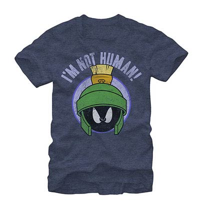 Looney Tunes Human Marv Blue T-Shirt