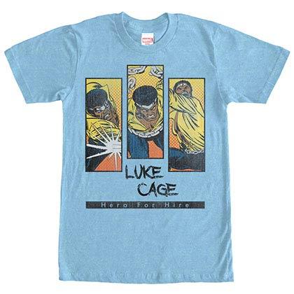Avengers Hero For Hire Blue Mens T-Shirt