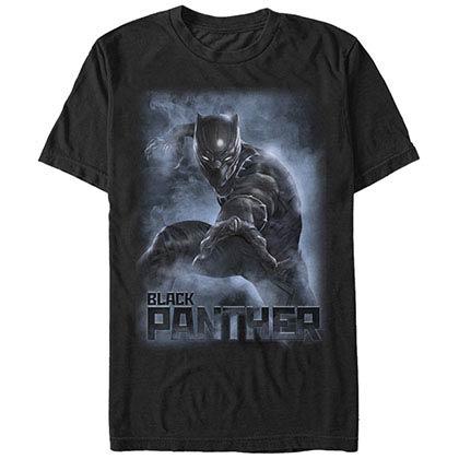 Black Panther Smoke Black Mens T-Shirt