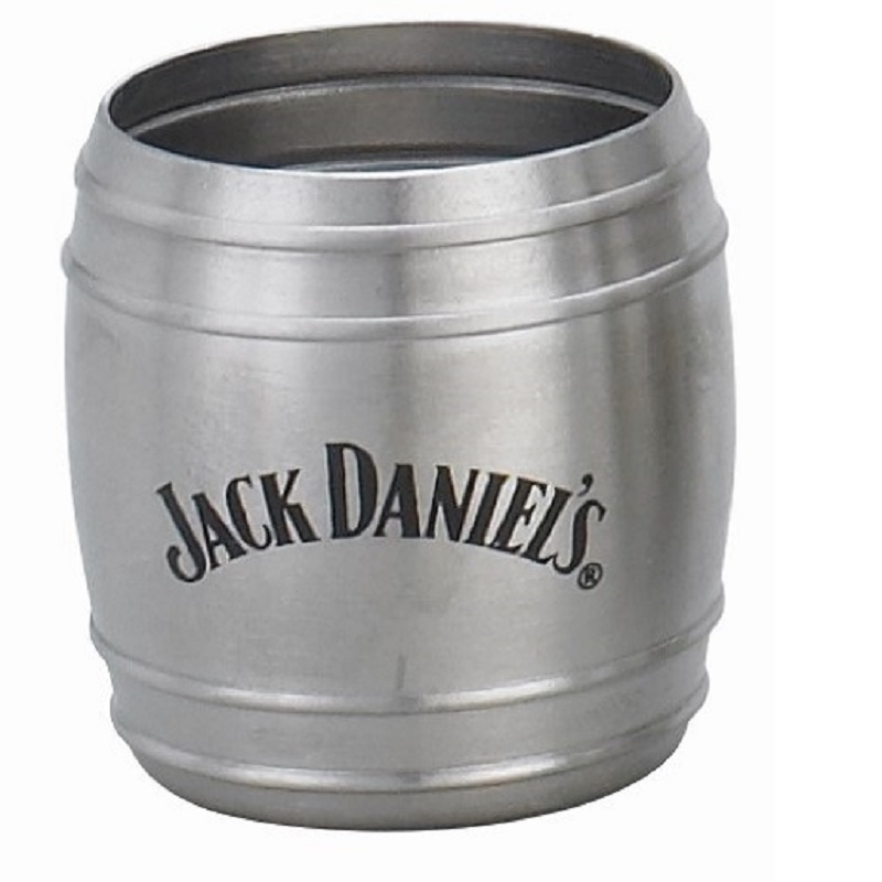 Jack Daniels Metal Whiskey Barrel Shot Glass