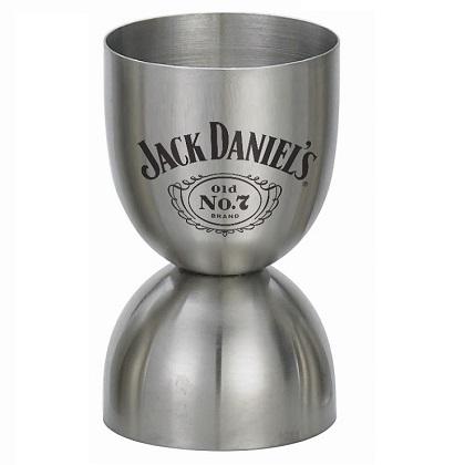 Jack Daniels Metal Double Jigger