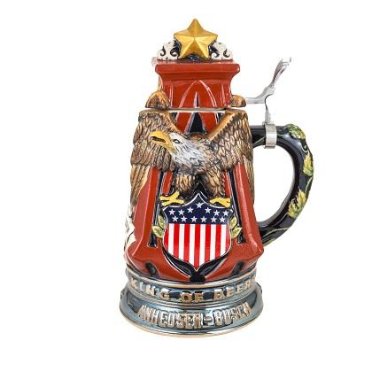 Budweiser Vintage Eagle Beer Stein