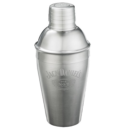 Jack Daniels Stainless Steel Cocktail Shaker