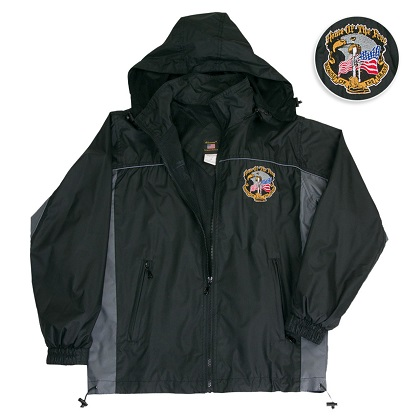 Home of the Brave Windbreaker Jacket
