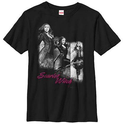 Marvel Teams Witchy Black Youth T-Shirt