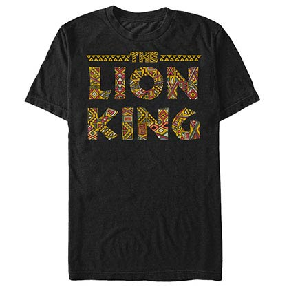 Disney Lion King Sahara Black T-Shirt