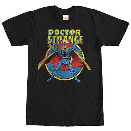 Dr. Strange The Doc Black Mens T-Shirt