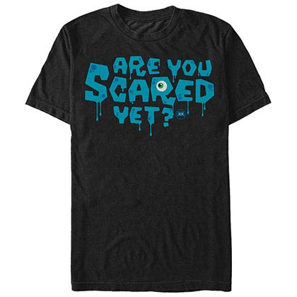 Disney Pixar Monsters Inc University Scary Black T-Shirt