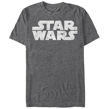 Star Wars Simplest Logo Gray T-Shirt