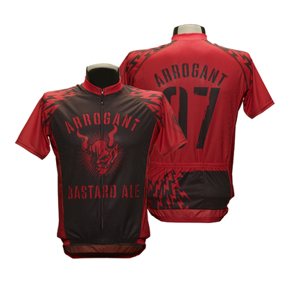 Arrogant Bastard Bolts Cycling Jersey