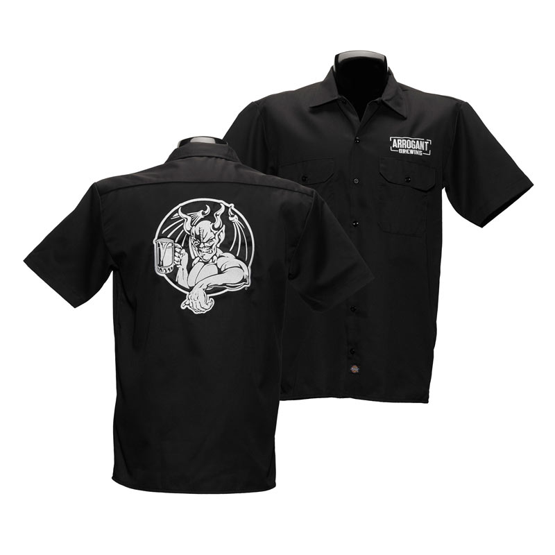 Arrogant Bastard Black Work Shirt