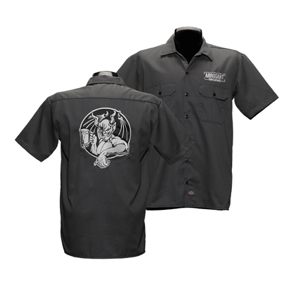 Arrogant Bastard Charcoal Grey Work Shirt