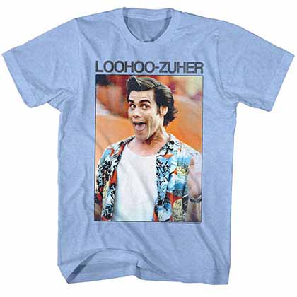 Ace Ventura Loohoo Mens Blue T-Shirt