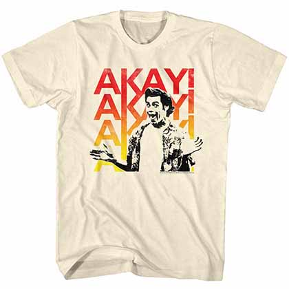 Ace Ventura Akayakay Mens White T-Shirt