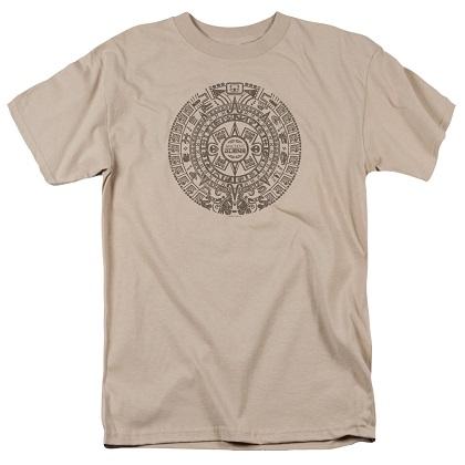 Ancient Aliens Mayan Calendar Tshirt
