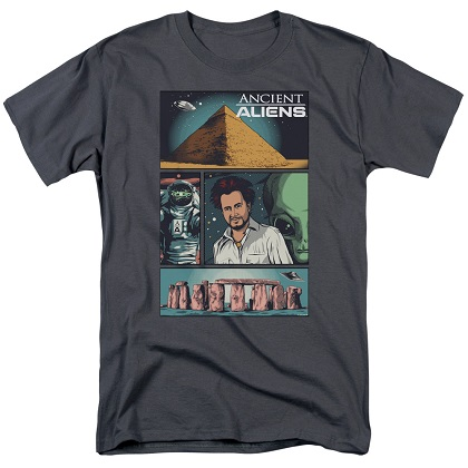 Ancient Aliens Comics Page Tshirt