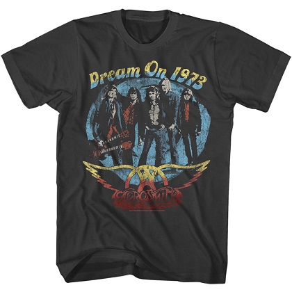 Aerosmith Dream on 1973 Tshirt