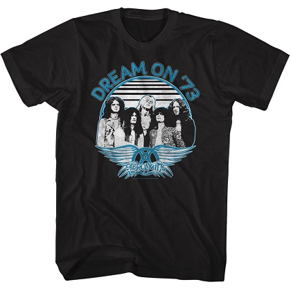 Aerosmith Dream On 73 Tour Tshirt