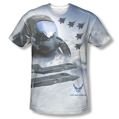 US Air Force Pilot Sublimation T-Shirt