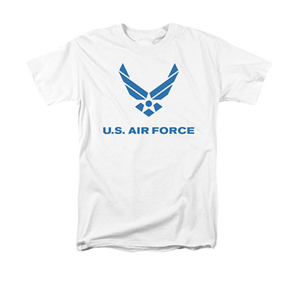 US Air Force Logo White T-Shirt