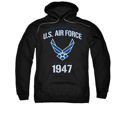 US Air Force 1947 Black Pullover Hoodie