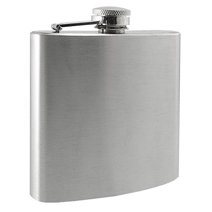 6 Oz Stainless Steel Flask