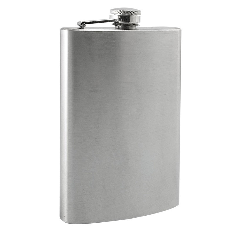 9 Oz Stainless Steel Flask