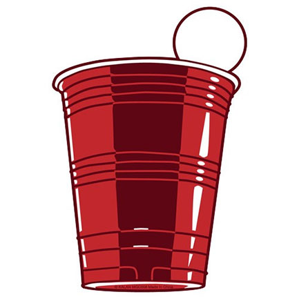 Red Solo Cup 3-1/2 Inch Refrigerator Magnet