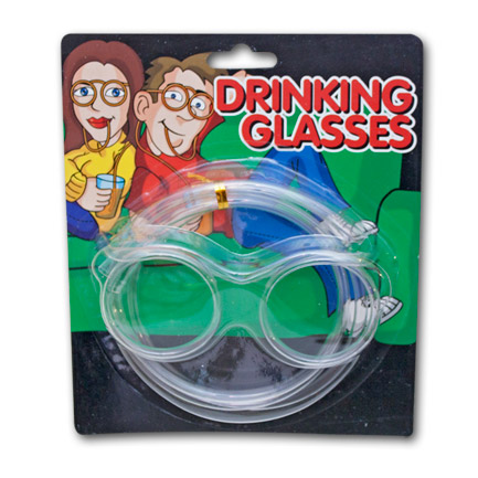 Novelty Drinking Glasses Straw