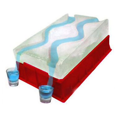 Ice Luge Ramp Tray