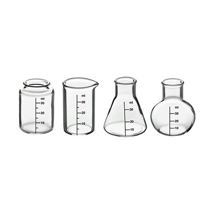 Beaker Shot Glass Four Pack