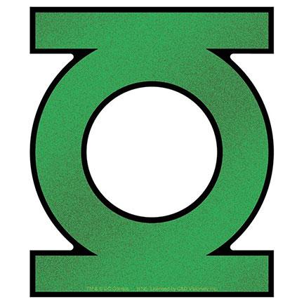 """Green Lantern 5"""" Jumbo Glittery Sticker"""