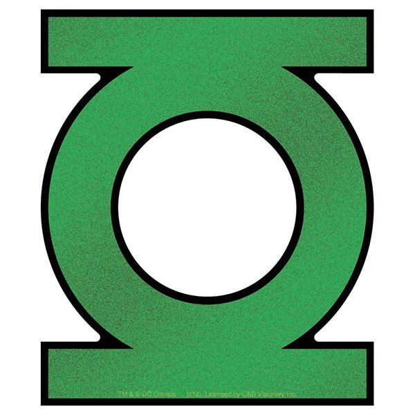 Green Lantern Logo Sticker Superheroden