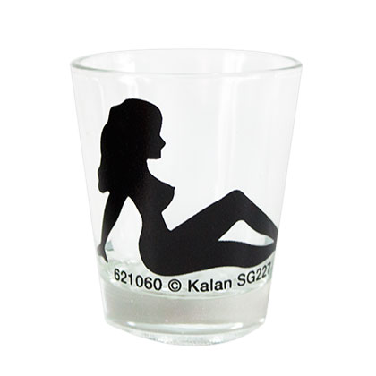 Woman Outline Shot Glass