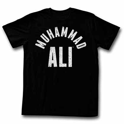 Muhammad Ali All Stars Mens Black T-Shirt
