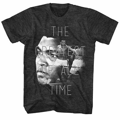Muhammad Ali The Greatest Mens Black T-Shirt