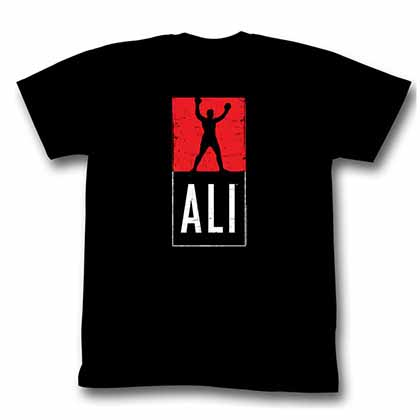 Muhammad Ali Block Mens Black T-Shirt