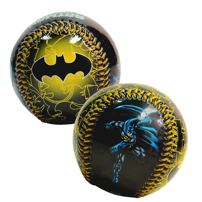 Batman Gold Logo Baseball