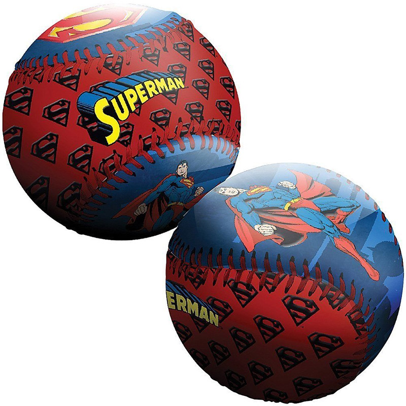 Superman Logo Baseball