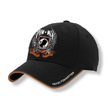 POW MIA Black Baseball Hat