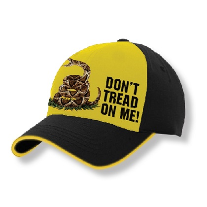 Patriotic Don't Tread On Me Hat