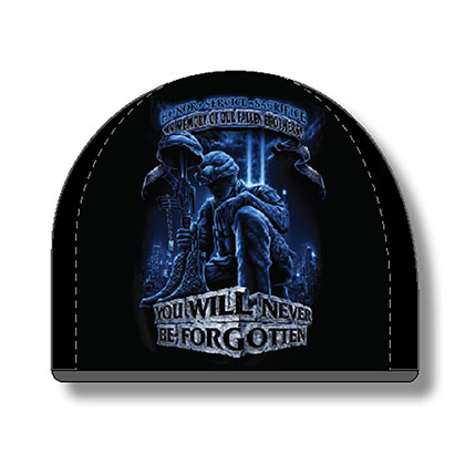 US Armed Forces Army Fallen Brothers Black Hat Beanie