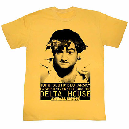 Animal House Face Yellow TShirt
