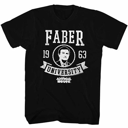 Animal House Faber Black TShirt