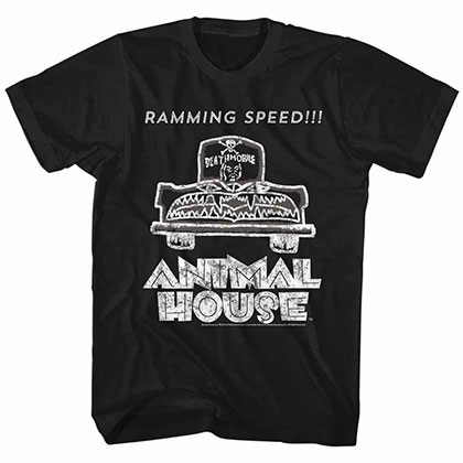 Animal House Ramming Speed Black TShirt