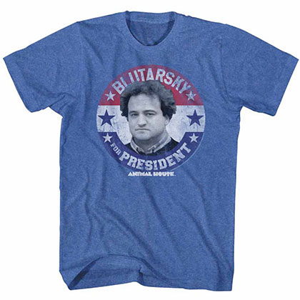 Animal House Blutarsky For Prez Blue TShirt