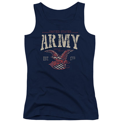 US Army Arch Blue Juniors Tank Top
