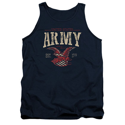 US Army Arch Blue Mens Tank Top