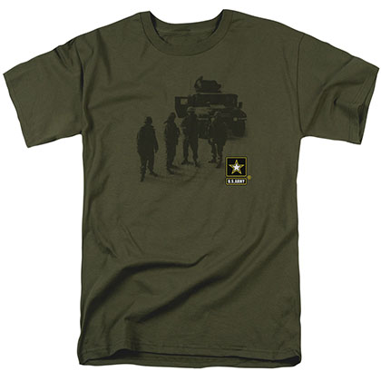 US Army Strong Green T-Shirt